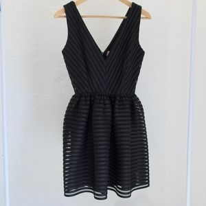 Love...Ady  Black fit and flare dress